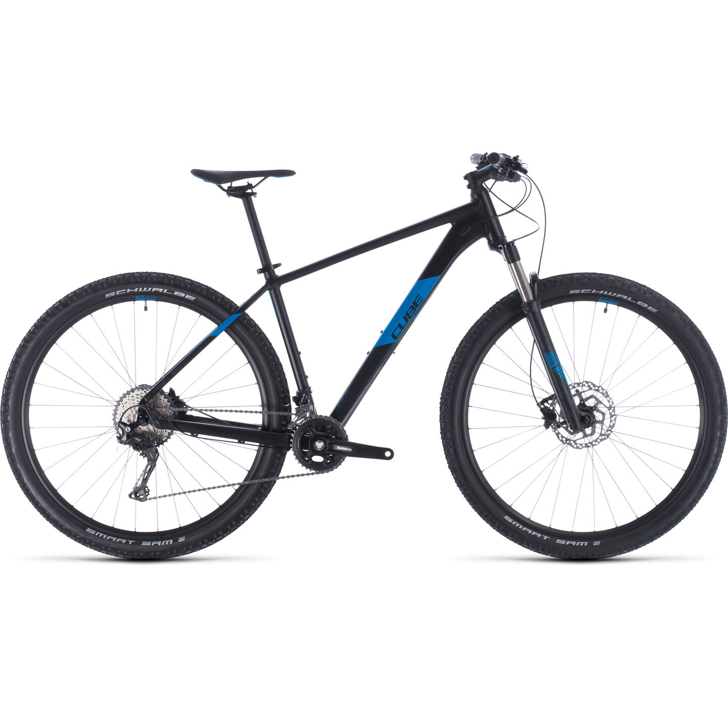 BICICLETA CUBE ATTENTION SL Black Blue 2020