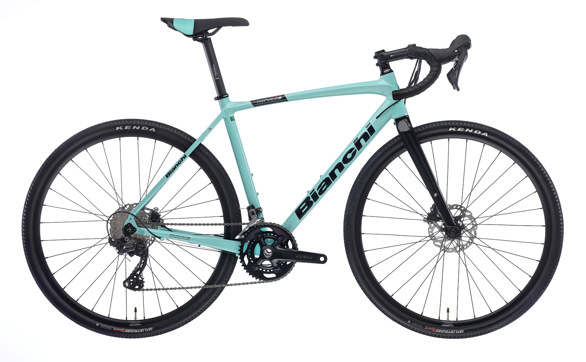 Bianchi IMPULSO ALLROAD GRX 600 11SP HYDR. DISC Celeste