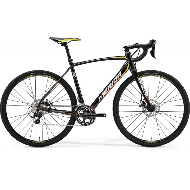 Bicicleta Merida Cyclo Cross 500 47cm Metallic Black