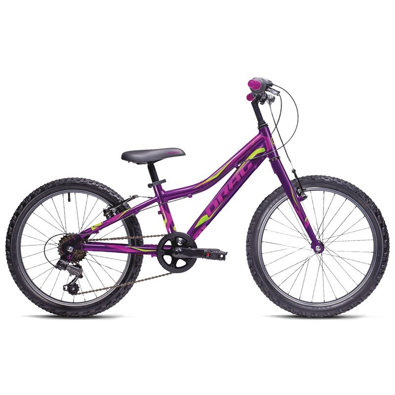 Bicicleta copii Drag Little Grace 20 violet