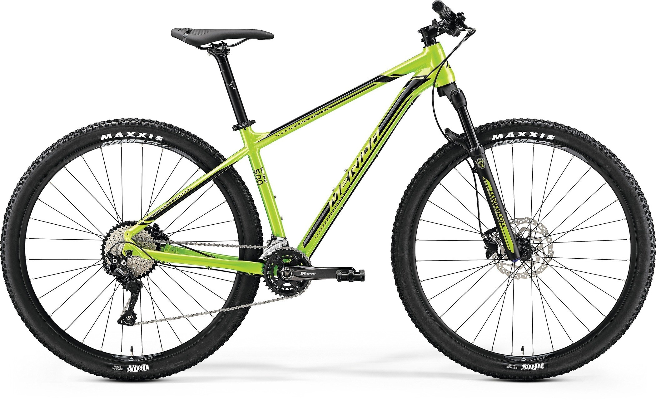 Merida 2019 BIG.NINE 500 verde/negru